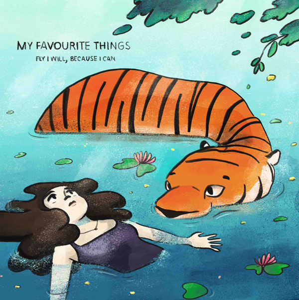 My Favourite Things (cover) - artwork by Uma SharmaTM.jpg