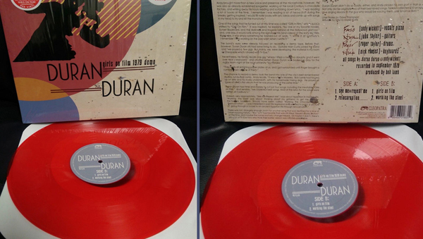 Duran Duran red vinylTM