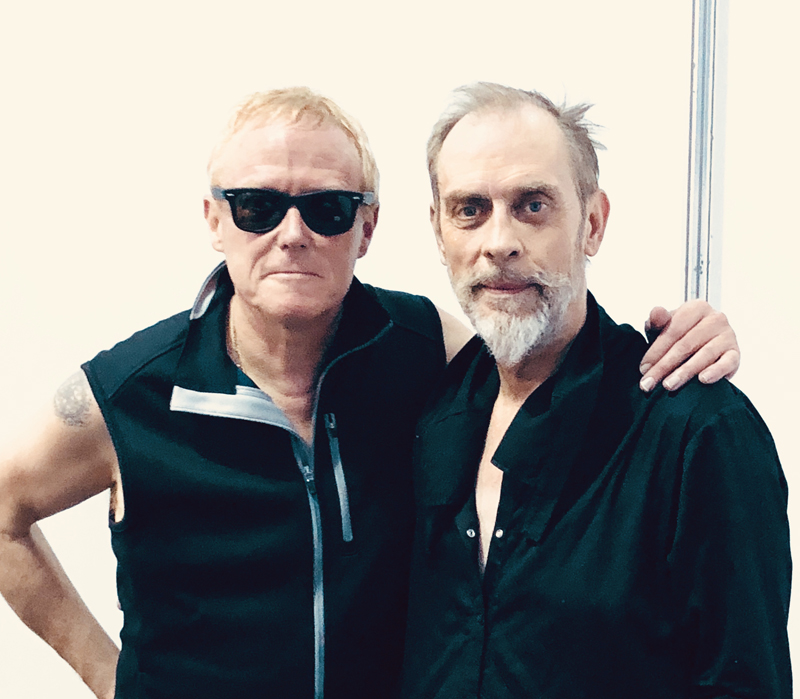 David J and Peter Murphy - photo by Darwin MeinersTM